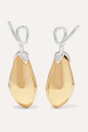 Anne Manns Adelheid silver and gold-plated earrings