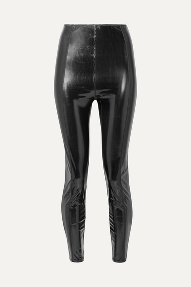 dc412b016b58a Lisa Marie Fernandez   Karlie stretch-PVC leggings   NET-A-PORTER.COM
