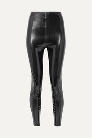 Lisa Marie Fernandez Karlie stretch-PVC leggings