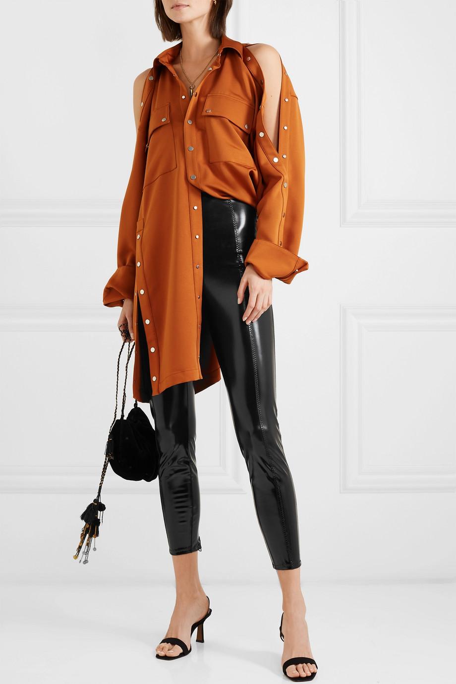 Lisa Marie Fernandez Karlie stretch-PVC leggings