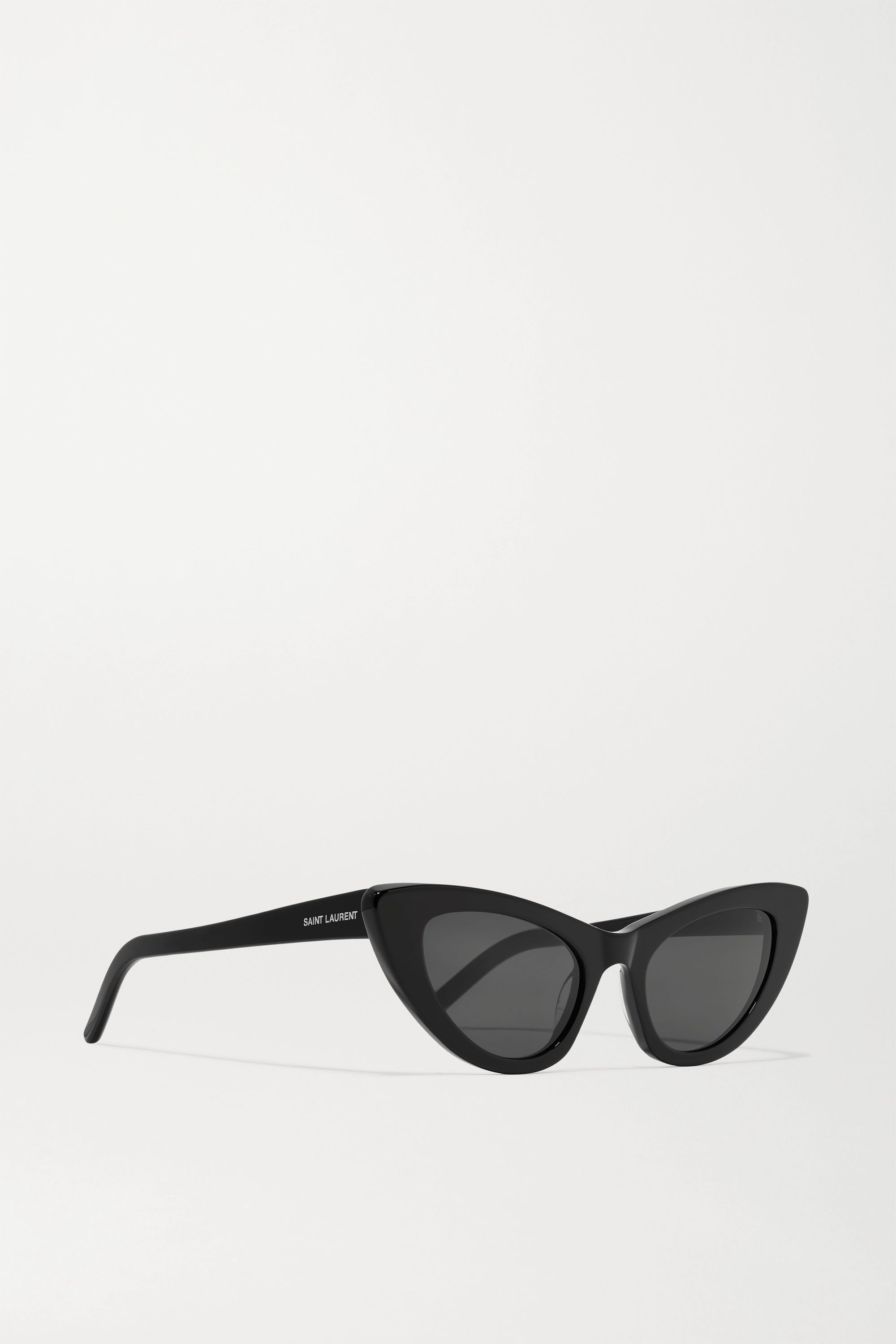 SAINT LAURENT Lily cat-eye acetate sunglasses