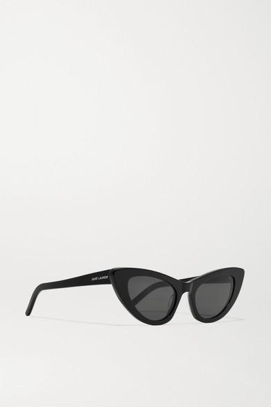 Saint Laurent Sunglasses Lily cat-eye acetate sunglasses