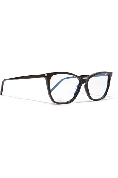 Saint Laurent Glasses Cat-eye acetate optical glasses