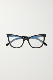 Saint Laurent Cat-eye acetate optical glasses