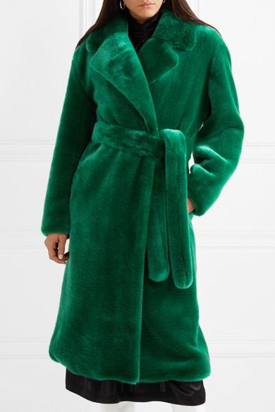 bd787d2824ff Luxe oversized faux fur coat
