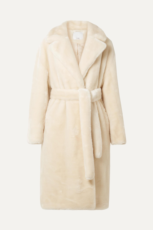Luxe oversized faux fur coat