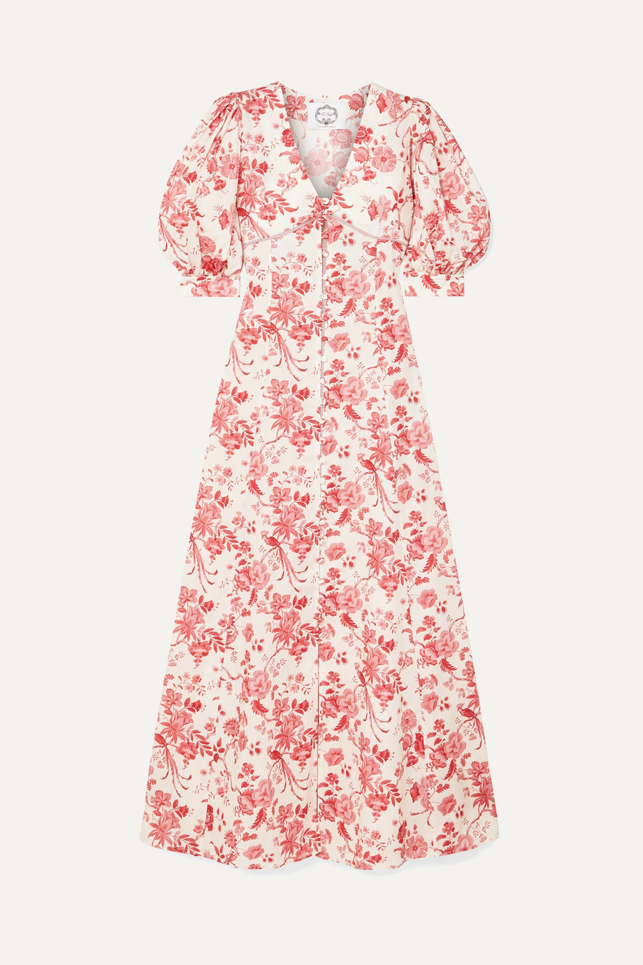 Evi Grintela | Chloe floral-print cotton-poplin maxi dress | NET-A-PORTER.COM