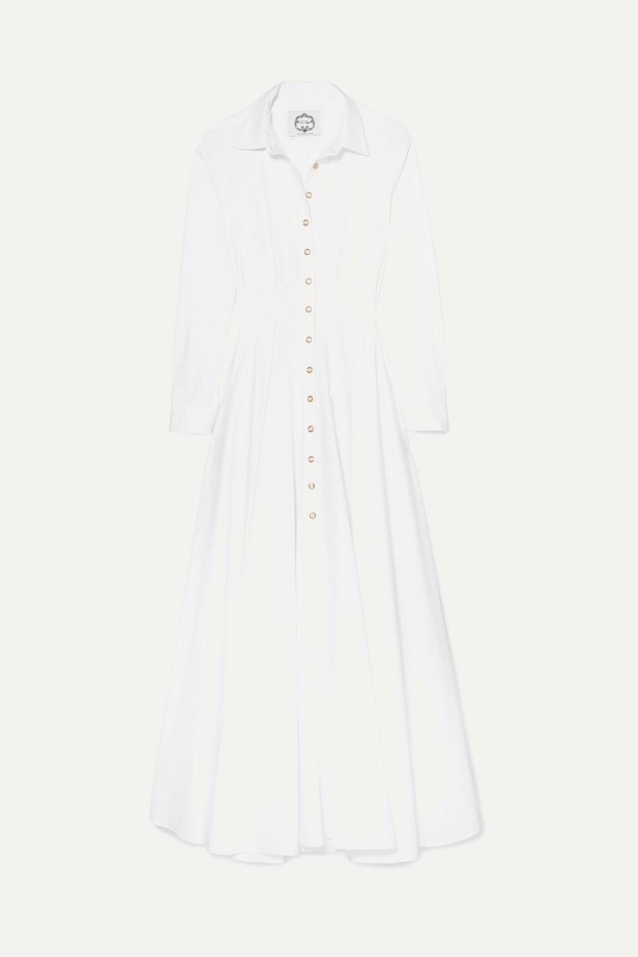 Evi Grintela | Juliette cotton-poplin maxi dress | NET-A-PORTER.COM