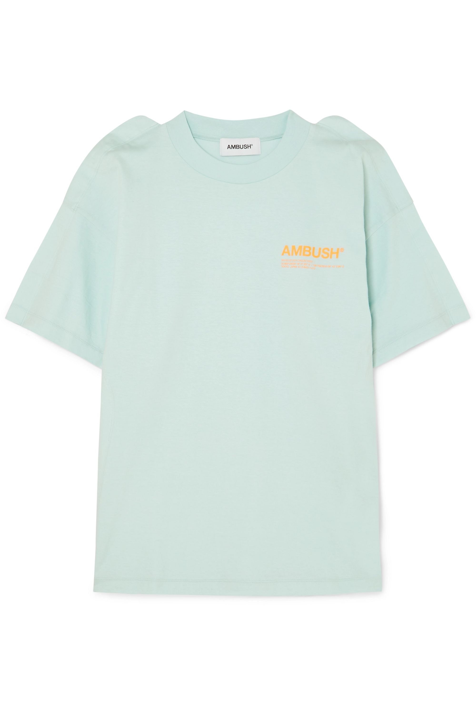 AMBUSH® Fin printed cotton-jersey T-shirt