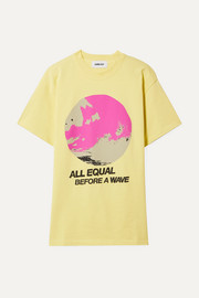 AMBUSH® All Equal printed cotton-jersey T-shirt