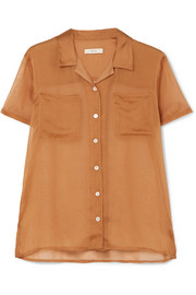 Silk-organza shirt by MATIN, available on net-a-porter.com for $415 Kendall Jenner Top SIMILAR PRODUCT