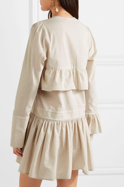 MATIN Mini-robe en coton