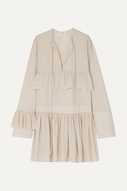 MATIN Mini-robe en coton