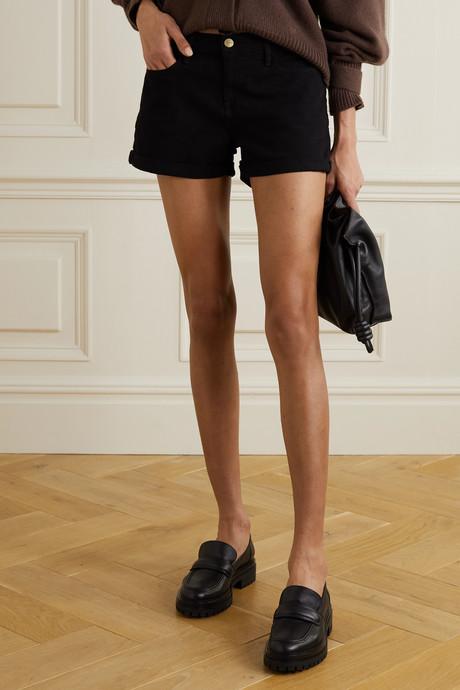 Le Cutoff denim shorts