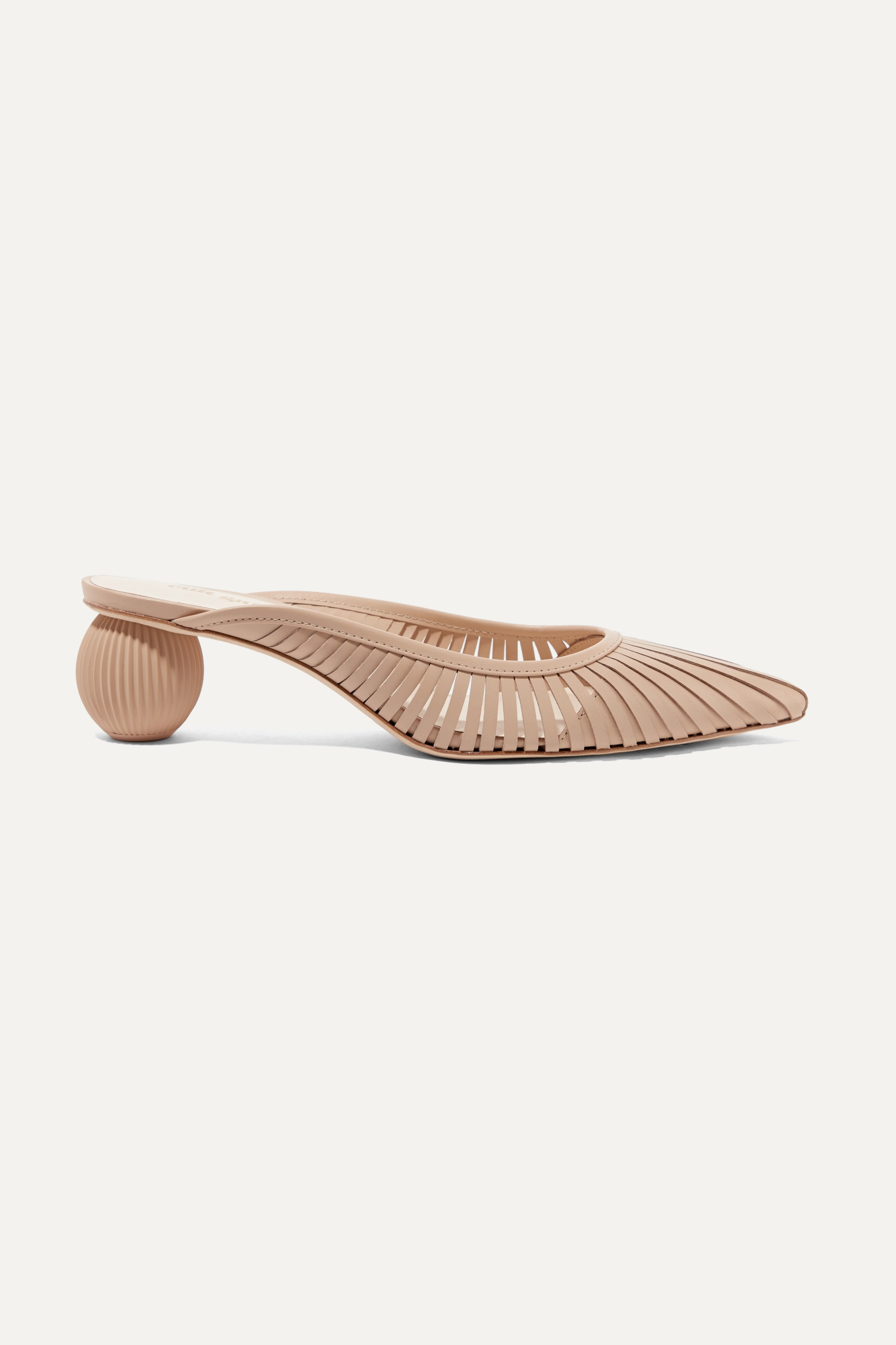 Cult Gaia Alia leather mules