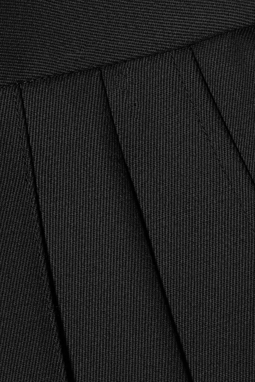 Peter Do Pleated wool-gabardine straight-leg pants