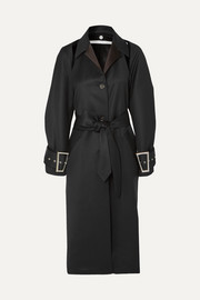 Peter Do Convertible wool and silk-blend coat