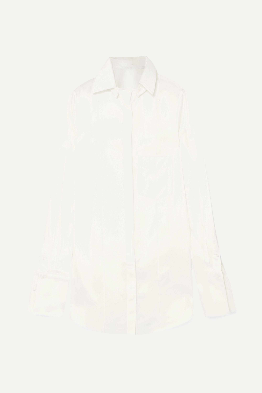 Peter Do Convertible Tencel-blend shirt