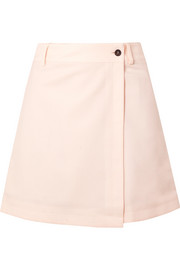 Paul & Joe Jzeste wrap-effect crepe shorts