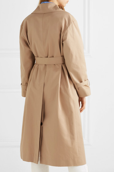 2278d950d89e Cotton-gabardine trench coat.  760. Play. Zoom In