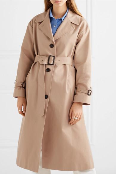 627a775987ab Paul   Joe. Cotton-gabardine trench coat
