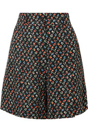 Paul & Joe Jomega floral-print poplin shorts