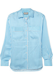 Paul & Joe Jaumatin striped satin shirt
