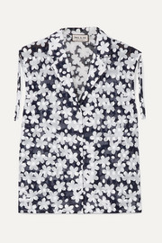 Paul & Joe Jsuzon floral-print cotton-gauze top