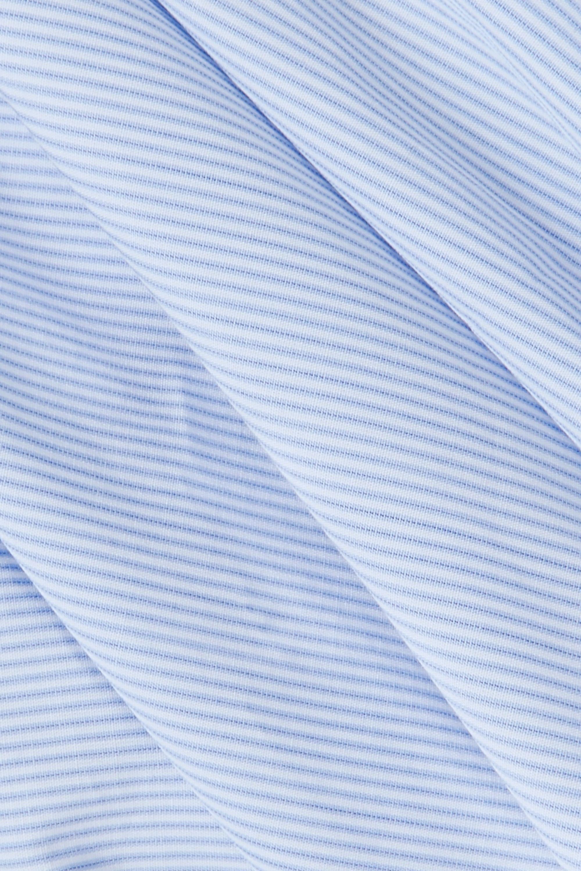 Paul & Joe Striped cotton wrap top