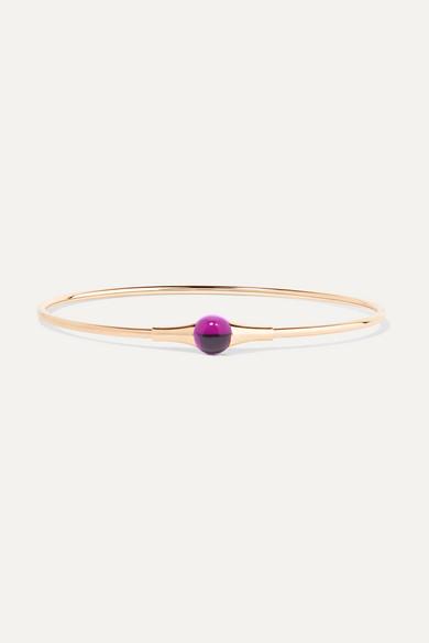 Pomellato M'ama non M'ama 18-karat rose gold amethyst bracelet