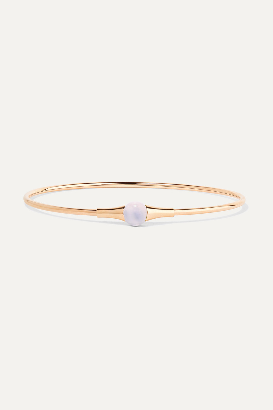 Pomellato M'ama non M'ama 18-karat rose gold moonstone bracelet