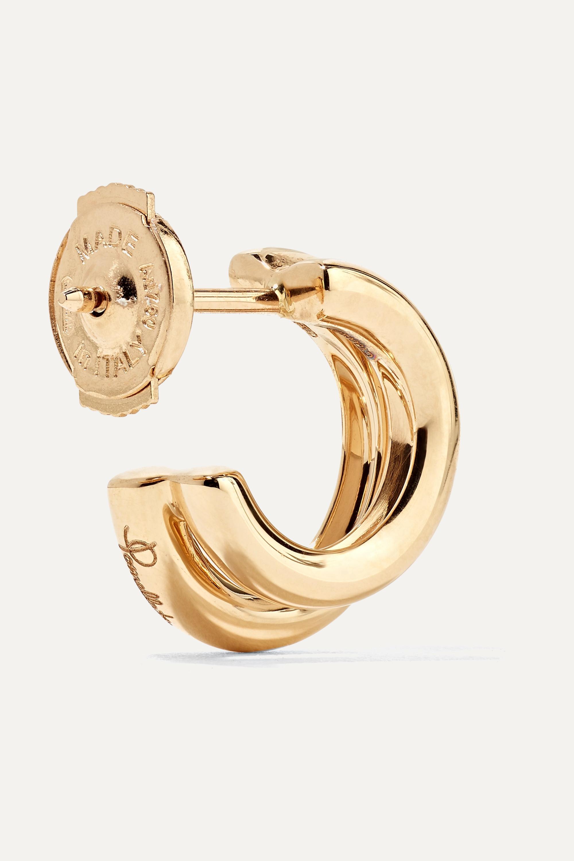 Pomellato 18-karat rose gold hoop earrings