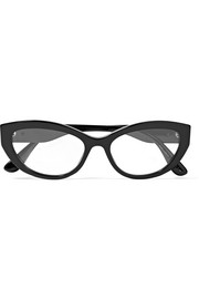 Dolce & Gabbana Cat-eye acetate optical glasses