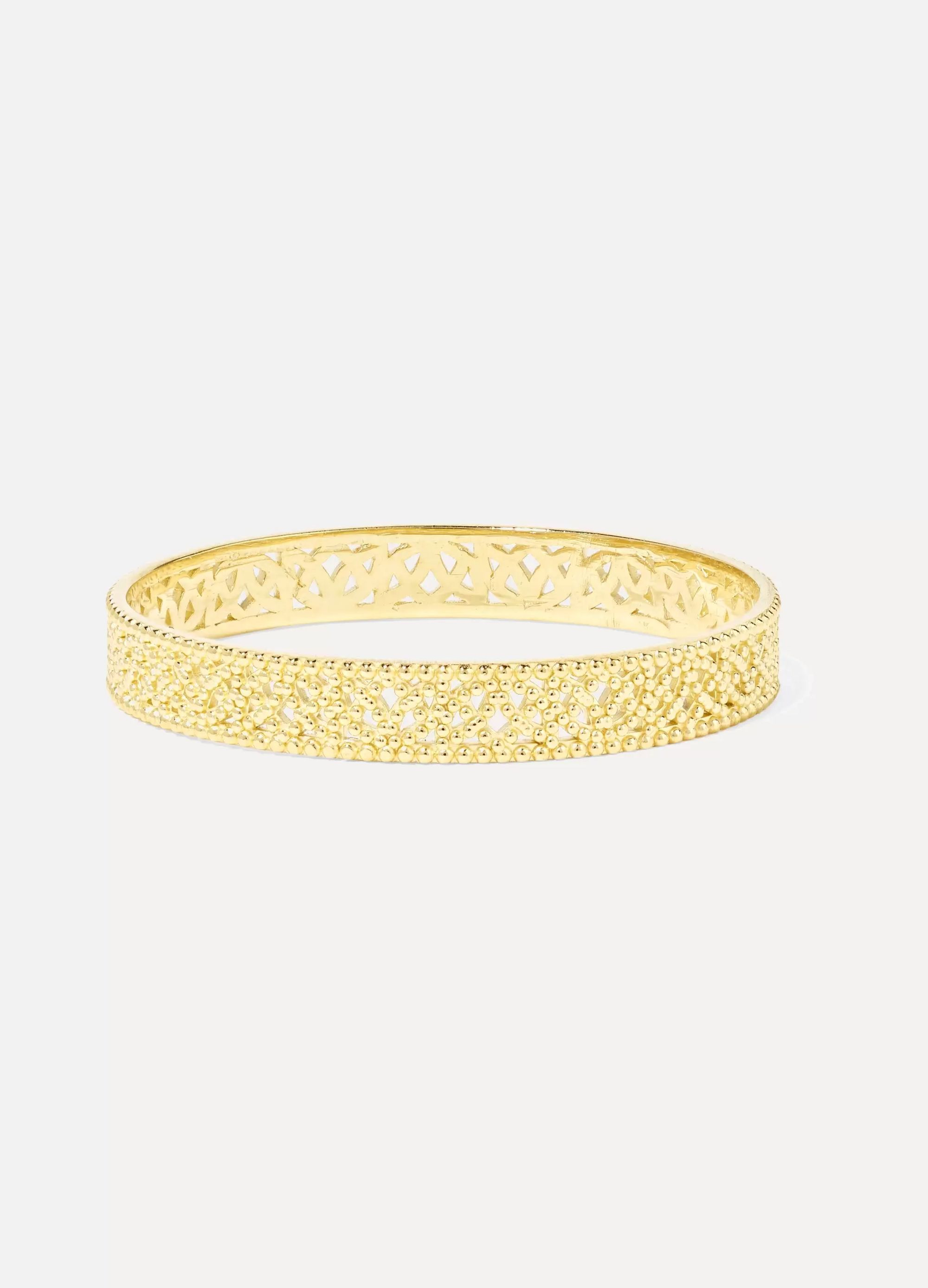 Grace Lee Straight Lace Ring aus Gold