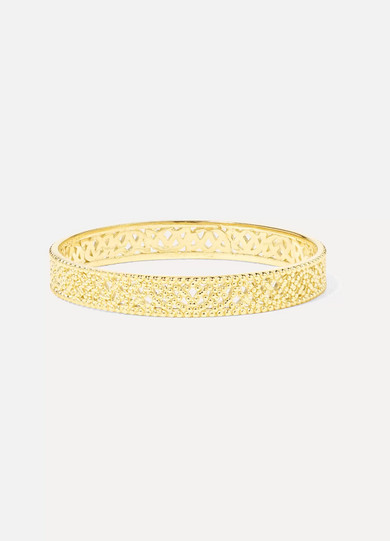 GRACE LEE Straight Lace Gold Ring