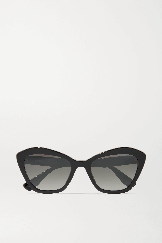 Miu Miu Eyewear Sonnenbrille mit Cat-Eye-Rahmen aus Azetat
