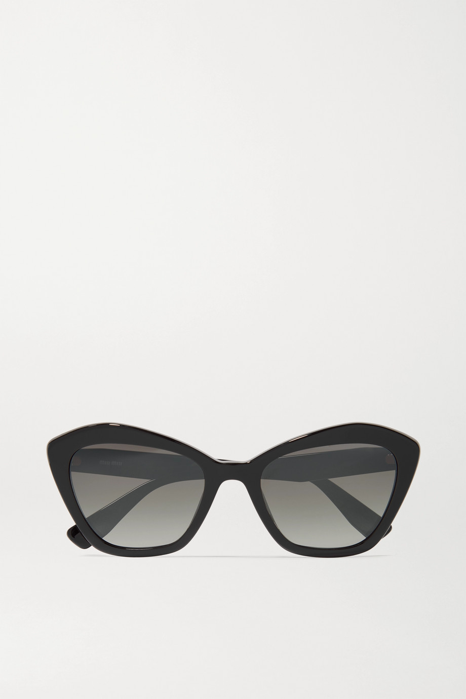 Miu Miu Eyewear Cat-eye acetate sunglasses