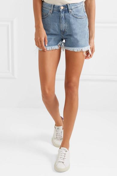 7da69257d9 M.i.h Jeans | Halsy frayed denim shorts | NET-A-PORTER.COM