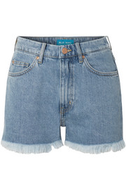 M.i.h Jeans Halsy frayed denim shorts