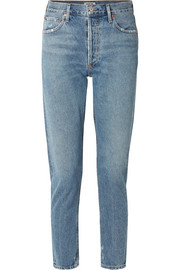AGOLDE Jamie high-rise straight-leg jeans