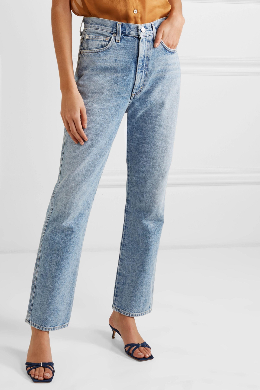 AGOLDE Pinch Waist 高腰直筒牛仔裤