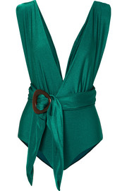 PatBO Belted swimsuit