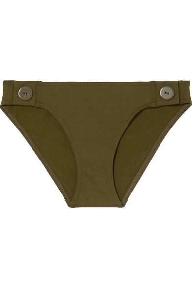 0d2c8bf8cd Eres | Pop Sea button-detailed triangle bikini top | NET-A-PORTER.COM