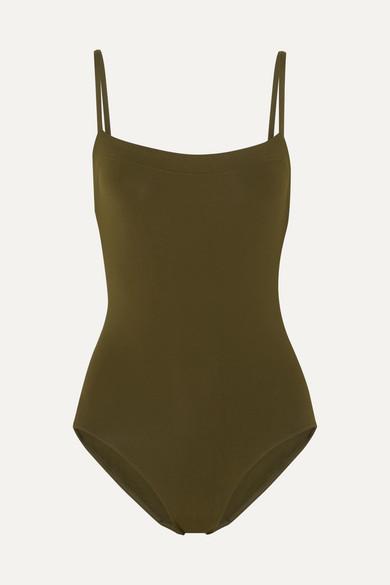ERES   Eres - Les Essentiels Aquarelle Swimsuit - Army green   Goxip