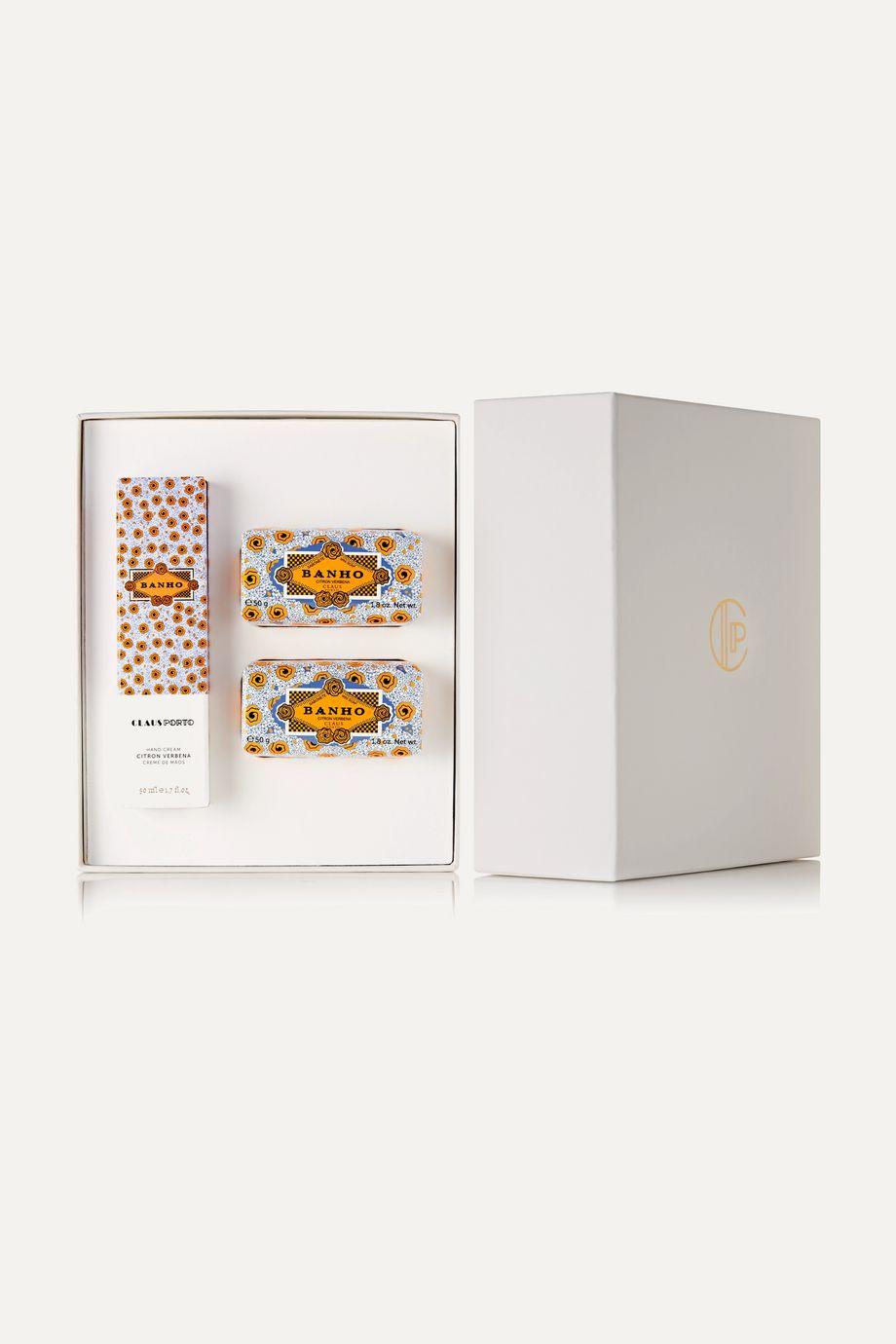 Claus Porto Citron Verbena Gift Box – Geschenkset