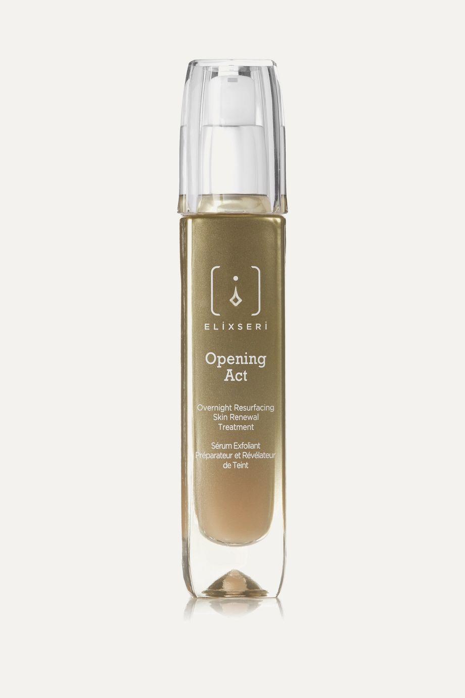 ELIXSERI Opening Act - Overnight Resurfacing Skin Renewal Treatment, 30ml