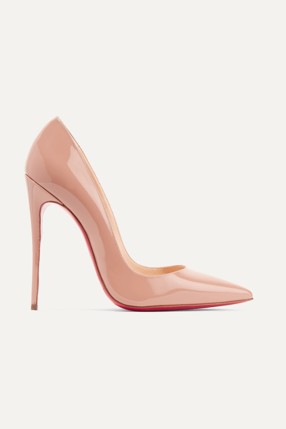 Christian Louboutin So Kate 120 Pumps aus Lackleder