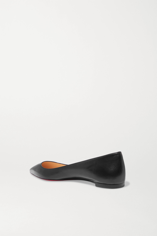 Christian Louboutin Ballalla leather point-toe flats