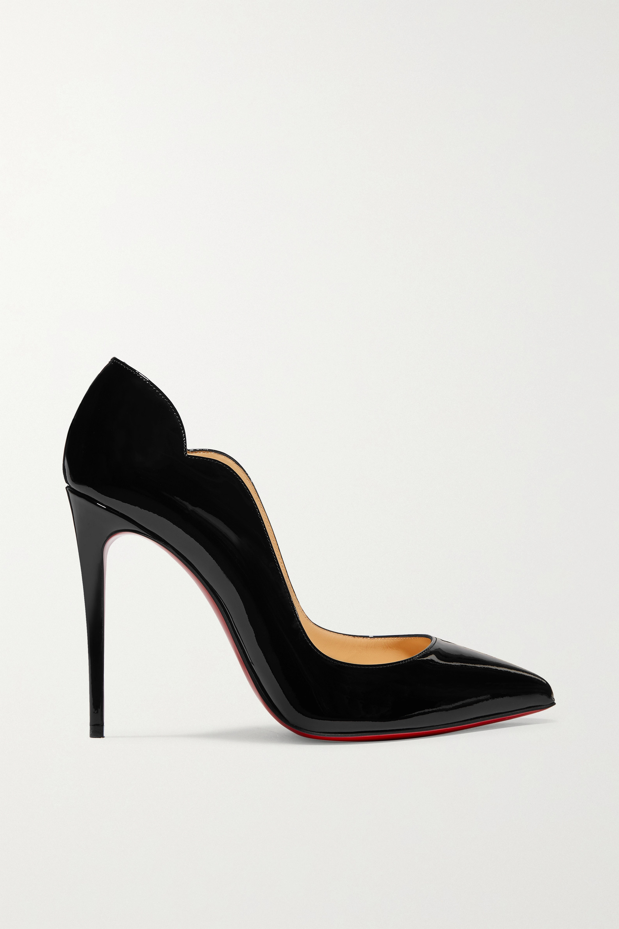 Christian Louboutin Hot Chick 100 patent-leather pumps