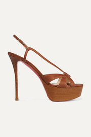 Christian Louboutin Veracite 130 leather platform sandals